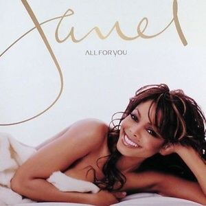 janet jackson mint all for you promo RARE poster